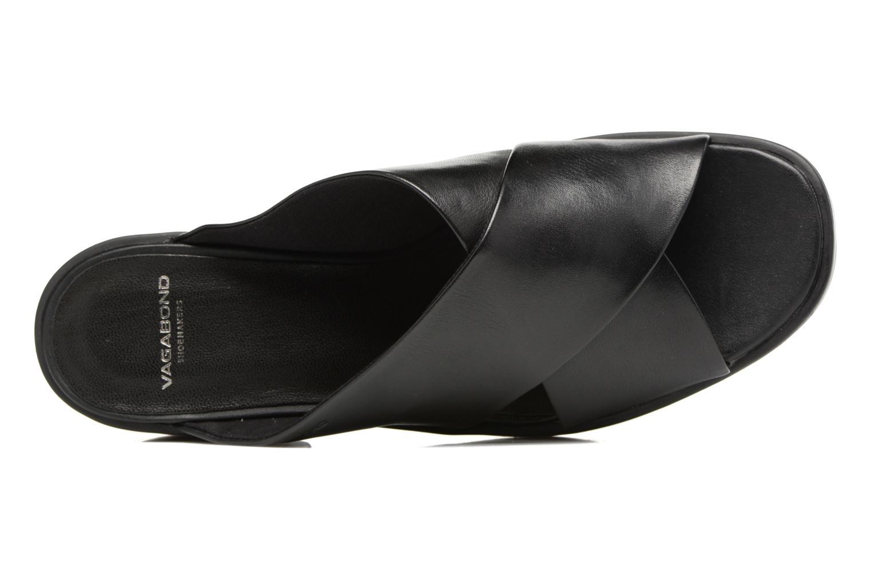 Wedges Vagabond Shoemakers Noor 4336-101 Zwart links