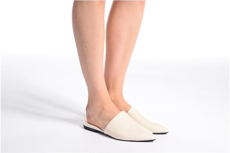 Zuecos Vagabond Shoemakers Katlin 4312-201 Blanco vista de abajo