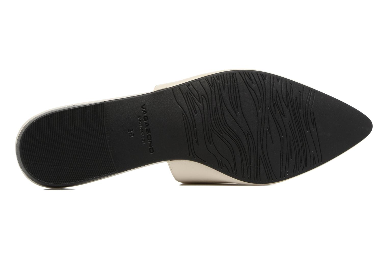 Zuecos Vagabond Shoemakers Katlin 4312-201 Blanco vista de arriba