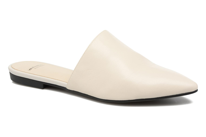 Zuecos Vagabond Shoemakers Katlin 4312-201 Blanco vista de detalle / par