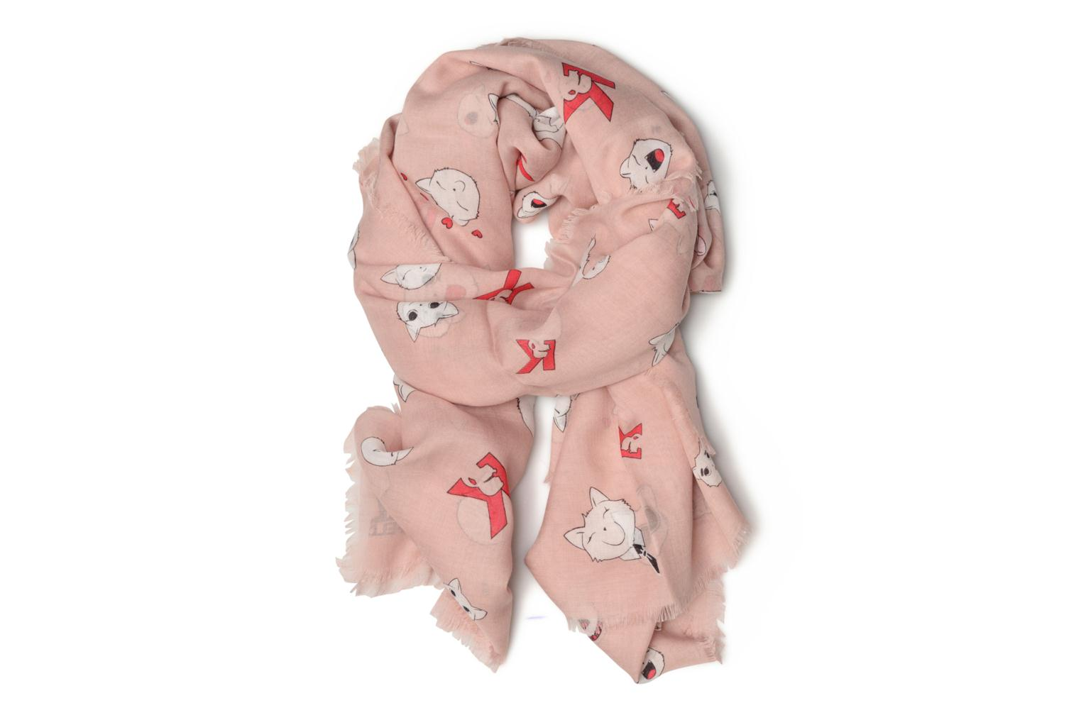 Choupette faces Scarf Quartz