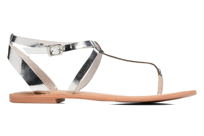 Sandales et nu-pieds Vero Moda Anneli Leather Sandal Argent vue derrière