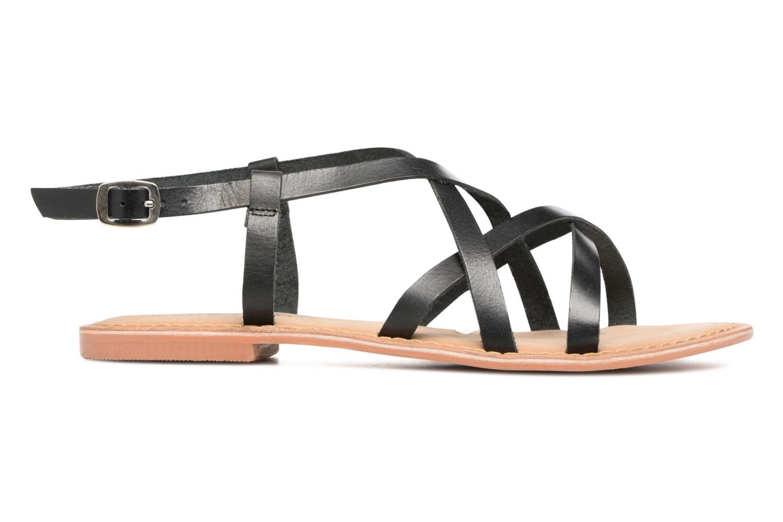 Sandales et nu-pieds Vero Moda Vina Leather Sandal Noir vue derrière