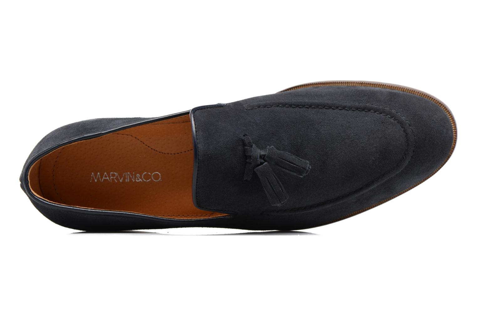 Mocassins Marvin&Co Newmains Blauw links
