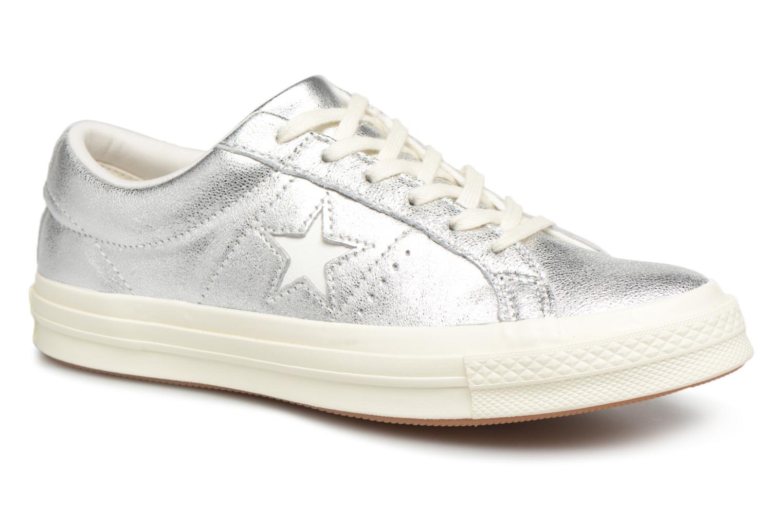e5e8cd301 ... Grandes descuentos últimos zapatos Converse One Star Ox W (Plateado) -  Deportivas Descuento