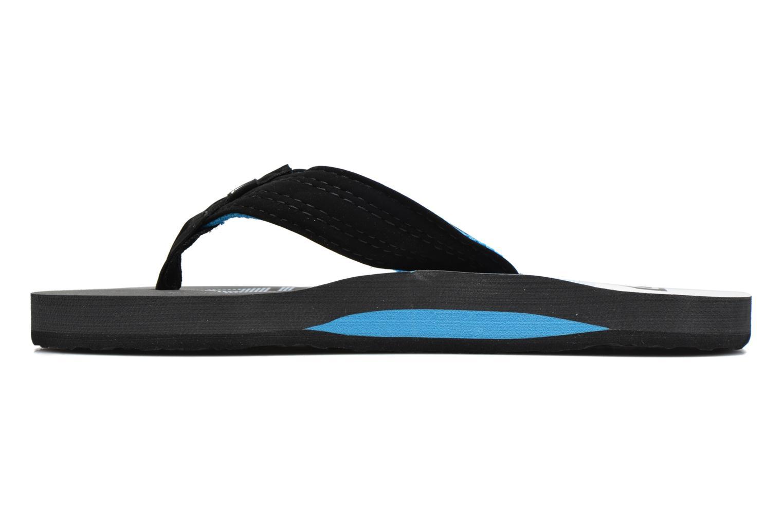 Flip flops Quiksilver Basis-Yt B Blue front view