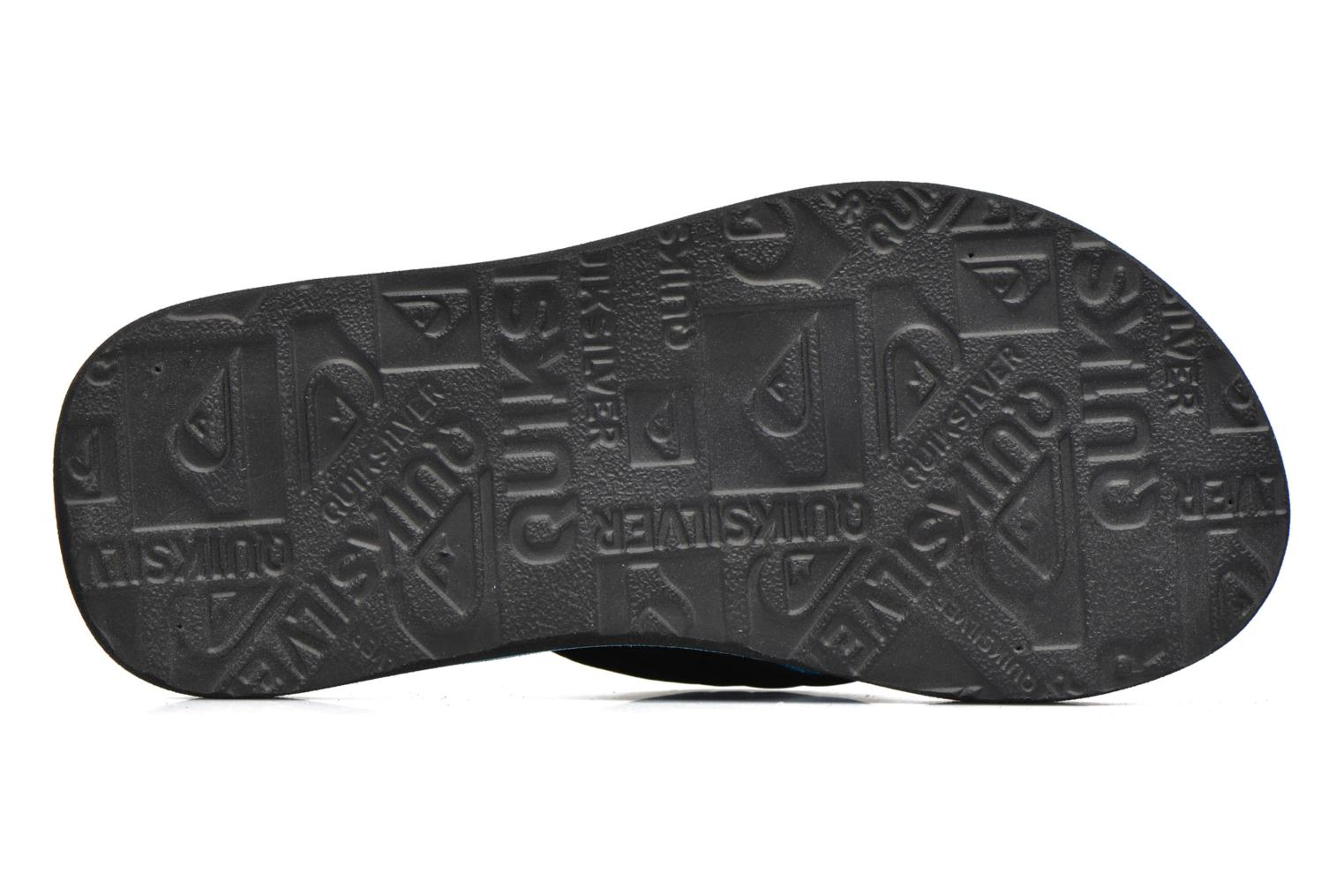 Flip flops Quiksilver Basis-Yt B Blue view from above