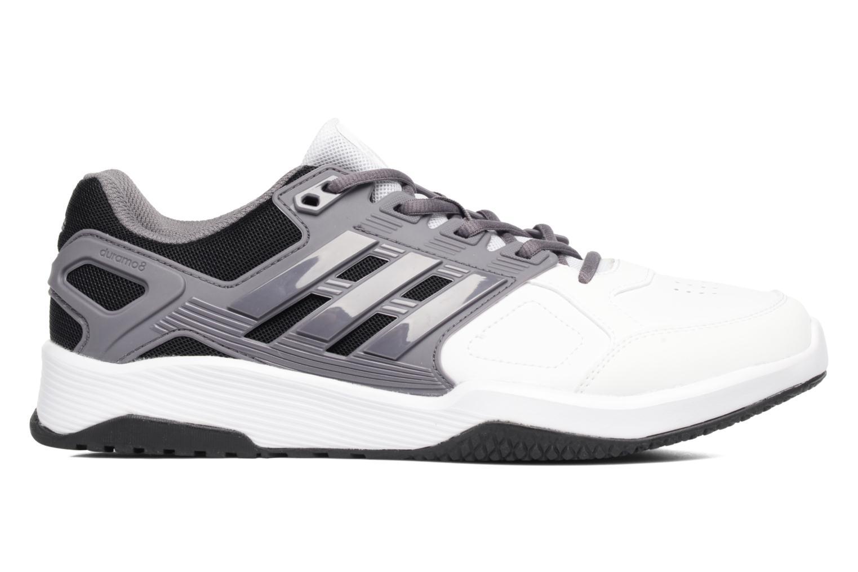 Chaussures de sport Adidas Performance Duramo 8 Trainer M Blanc vue derrière