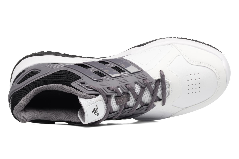 Chaussures de sport Adidas Performance Duramo 8 Trainer M Blanc vue gauche