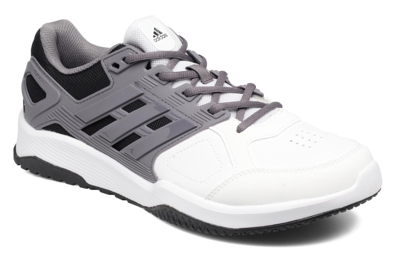 Chaussures de sport Adidas Performance Duramo 8 Trainer M Blanc vue détail/paire