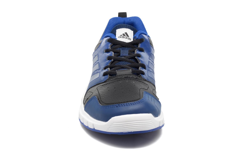 Chaussures de sport Adidas Performance Essential Star 3 M Noir vue portées chaussures