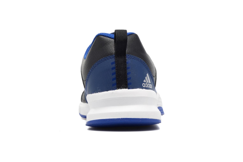 Chaussures de sport Adidas Performance Essential Star 3 M Noir vue droite