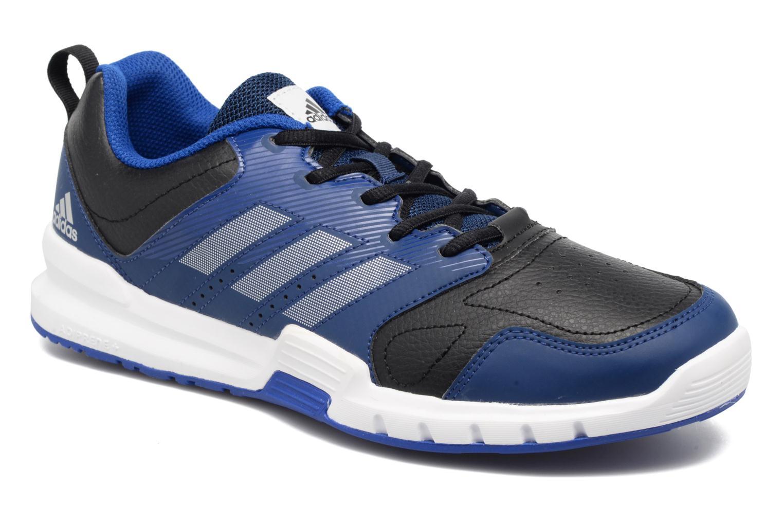Chaussures de sport Adidas Performance Essential Star 3 M Noir vue détail/paire