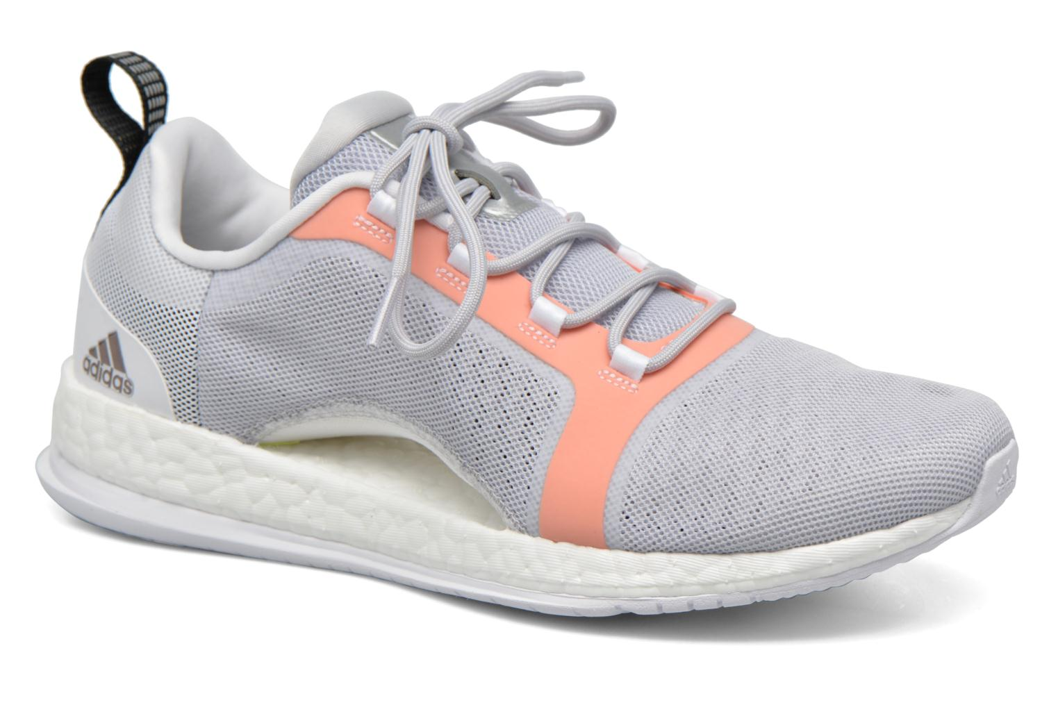 Sport shoes Adidas Performance PureBOOST X TR 2 Grey detailed view/ Pair view
