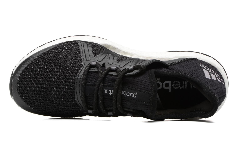 Chaussures de sport Adidas Performance PureBOOST Xpose Noir vue gauche