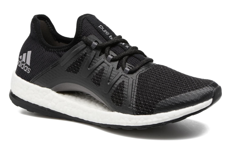 Chaussures de sport Adidas Performance PureBOOST Xpose Noir vue détail/paire