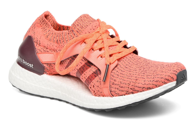 Chaussures de sport Adidas Performance UltraBOOST X Marron vue détail/paire