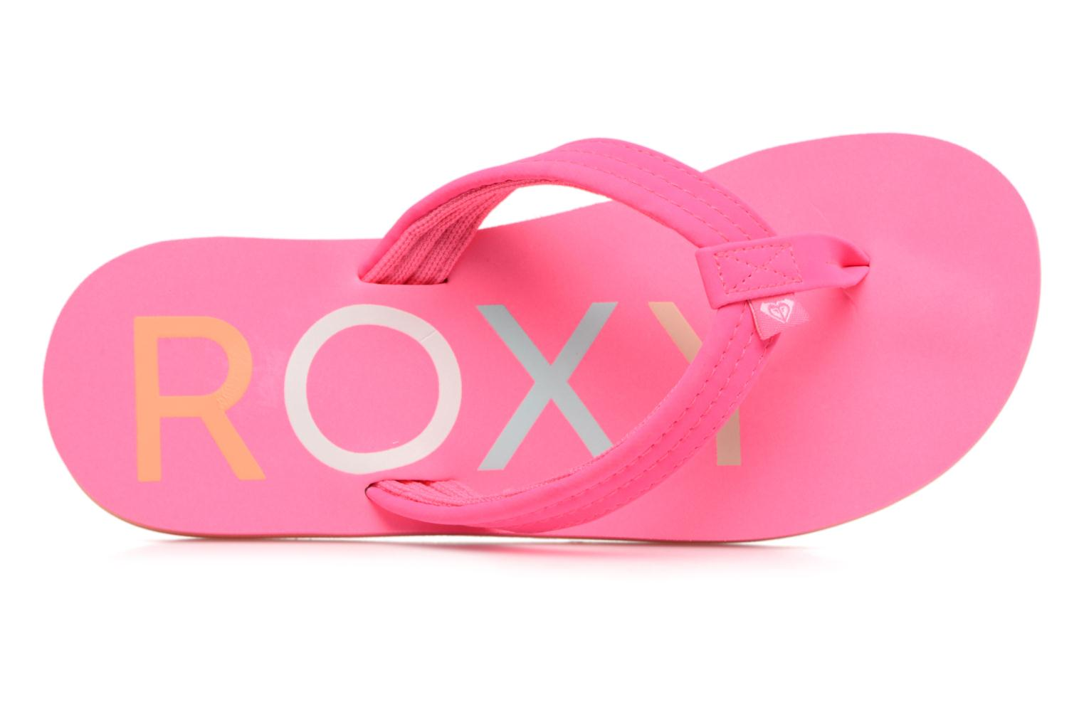 Tongs Roxy Rg Vista Rose vue gauche