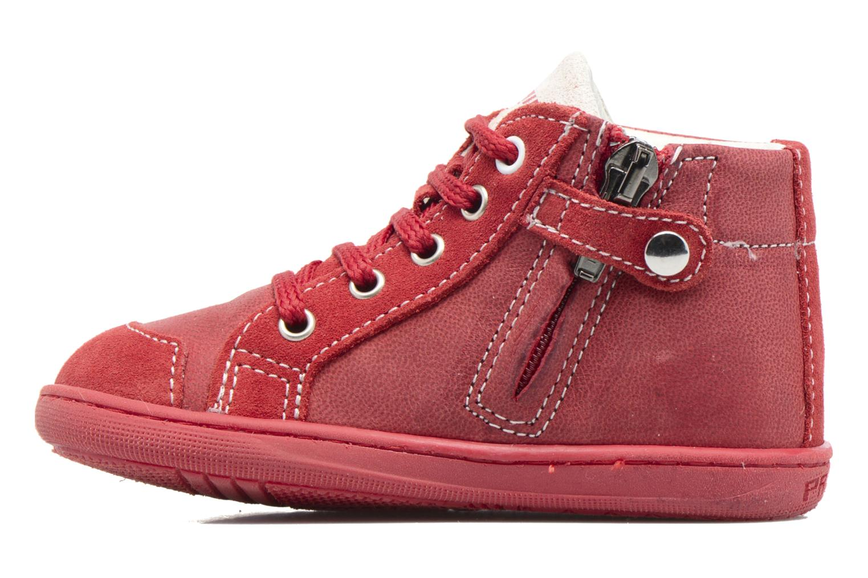Bottines et boots Primigi Alina Rouge vue face