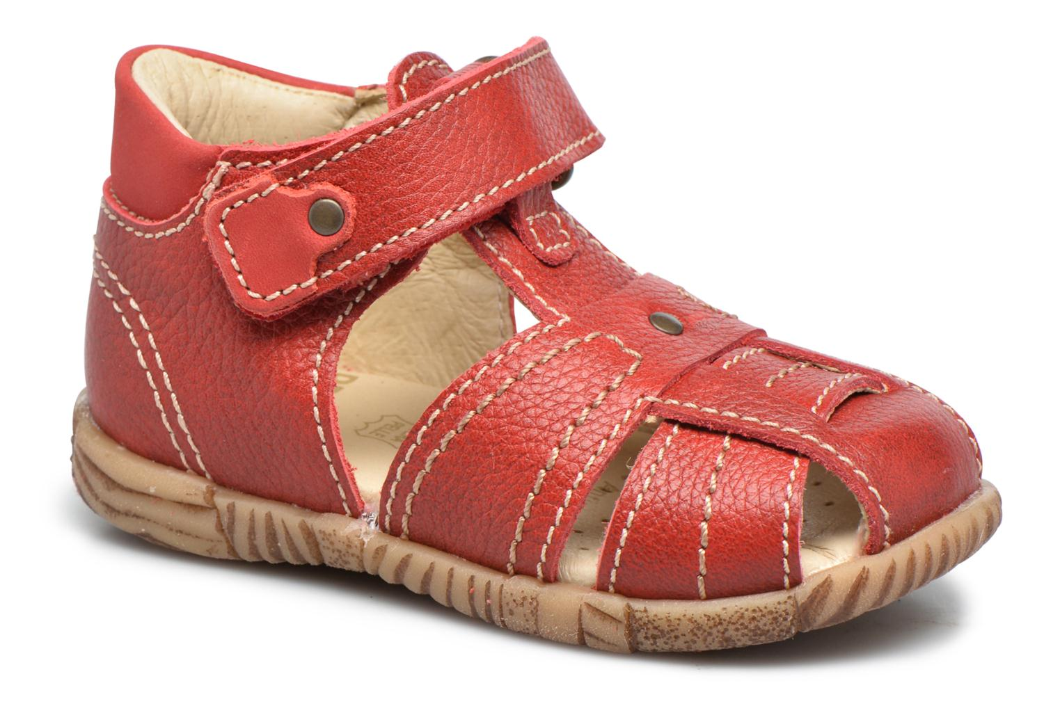 Sandals Primigi Gabrio Red detailed view/ Pair view