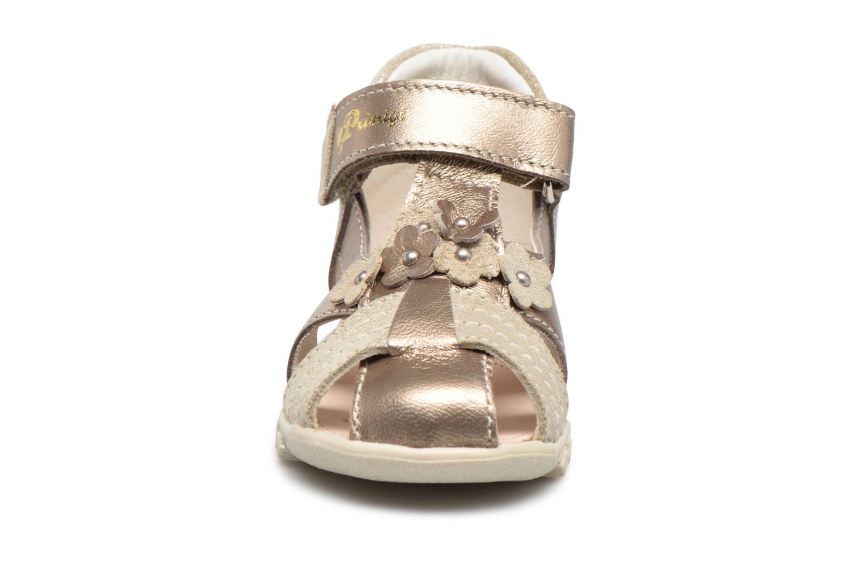 Sandali e scarpe aperte Primigi Belinda Oro e bronzo modello indossato