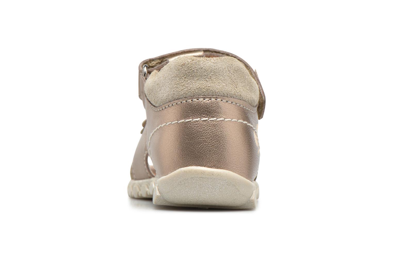 Sandales et nu-pieds Primigi Belinda Or et bronze vue droite