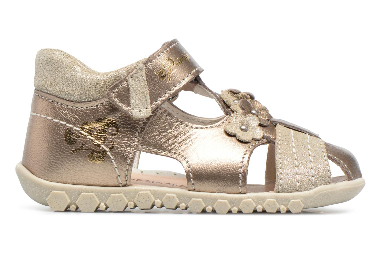 Sandales et nu-pieds Primigi Belinda Or et bronze vue derrière