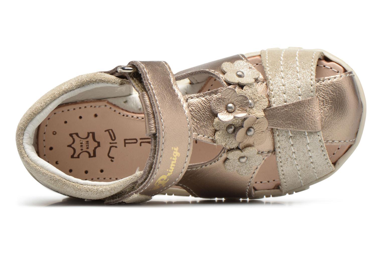 Sandales et nu-pieds Primigi Belinda Or et bronze vue gauche