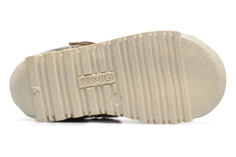 Sandales et nu-pieds Primigi Belinda Or et bronze vue haut
