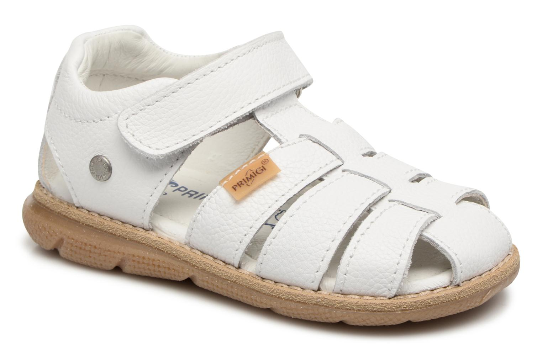 Sandals Primigi Victorio White detailed view/ Pair view