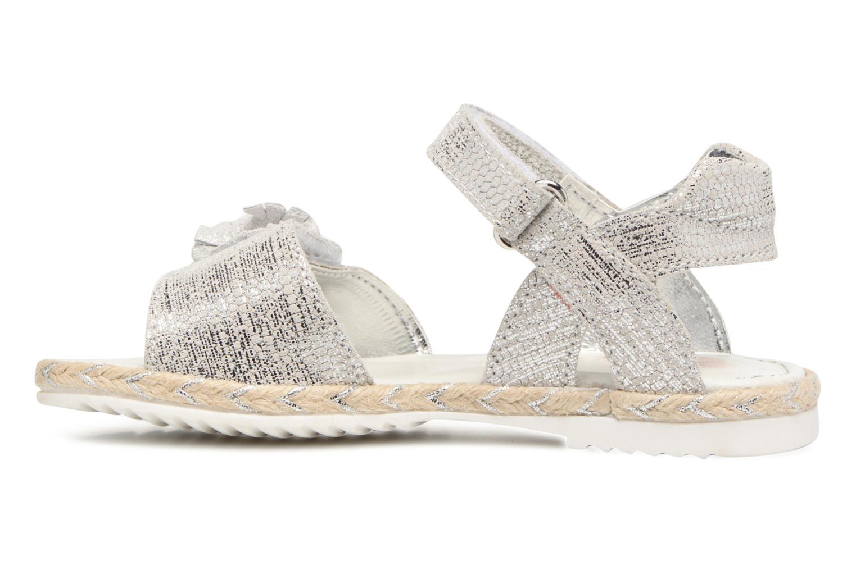 Sandales et nu-pieds Primigi Mignona Argent vue face