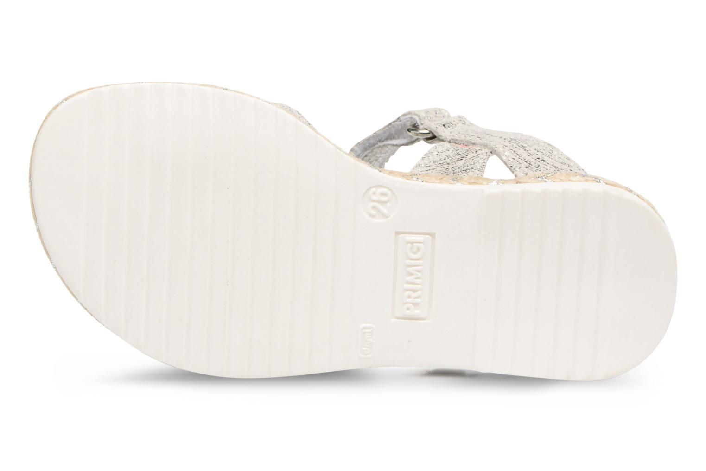 Sandales et nu-pieds Primigi Mignona Argent vue haut