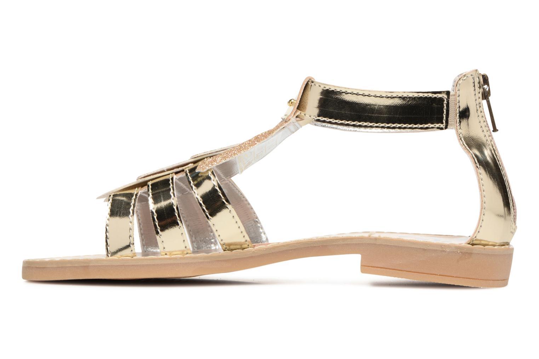 Sandales et nu-pieds Primigi Vittoria Or et bronze vue face
