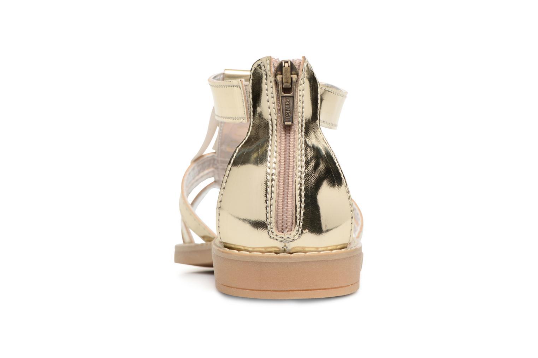 Sandales et nu-pieds Primigi Vittoria Or et bronze vue droite