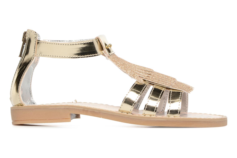 Sandales et nu-pieds Primigi Vittoria Or et bronze vue derrière