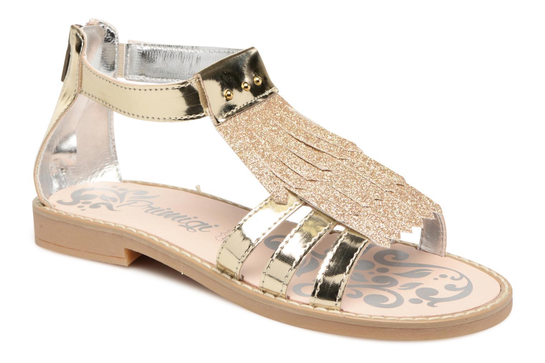 Sandales et nu-pieds Primigi Vittoria Or et bronze vue détail/paire