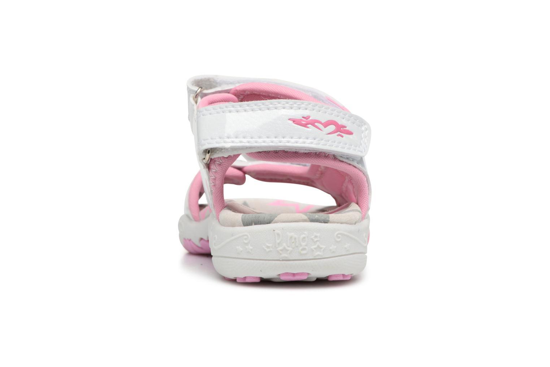 Sandales et nu-pieds Primigi Oli Rose vue droite