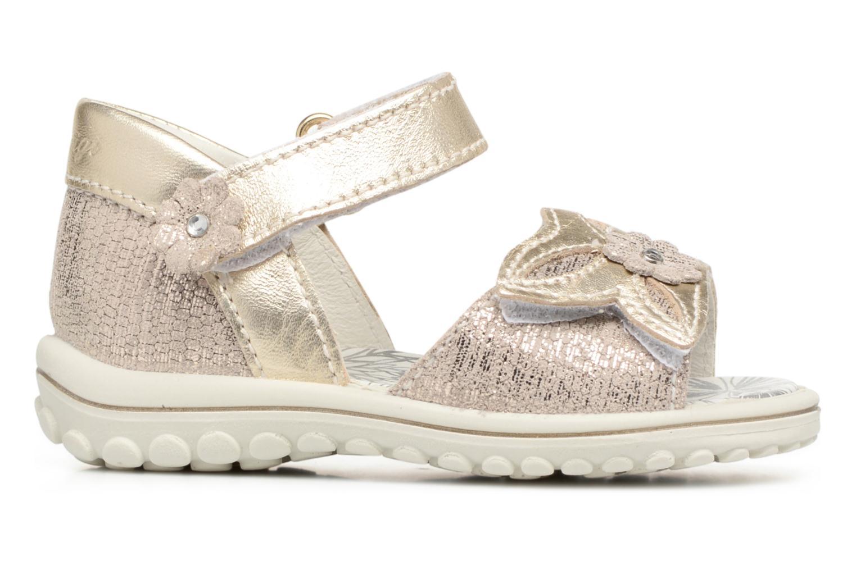 Sandales et nu-pieds Primigi Camilla Or et bronze vue derrière