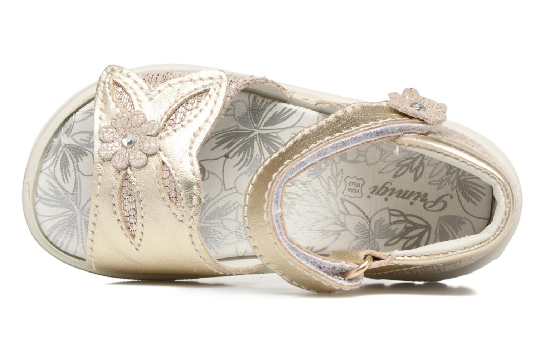 Sandales et nu-pieds Primigi Camilla Or et bronze vue gauche
