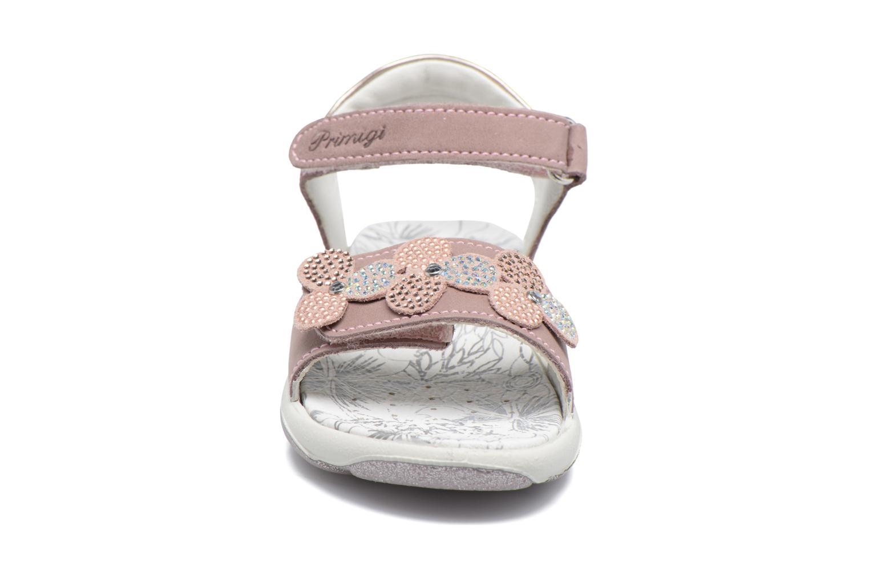 Sandales et nu-pieds Primigi Anita Marron vue portées chaussures