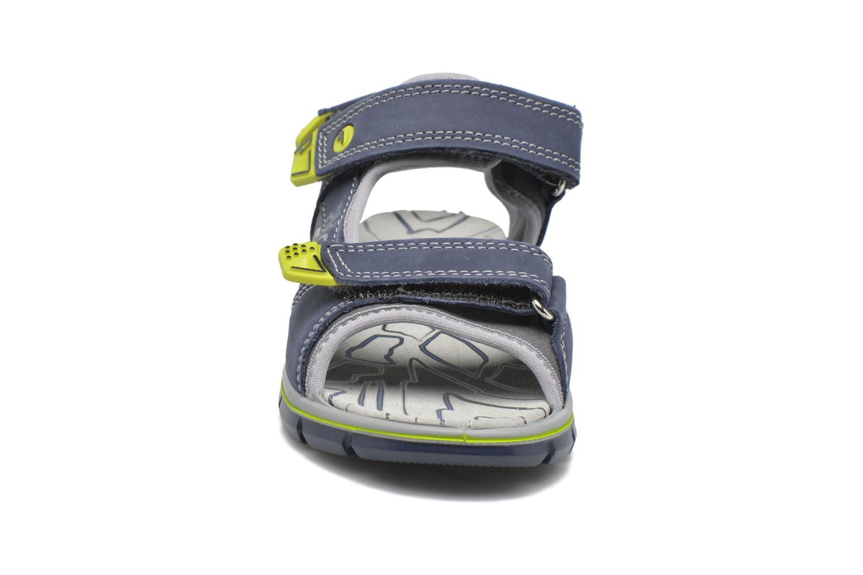 Sandales et nu-pieds Primigi Ugo Bleu vue portées chaussures