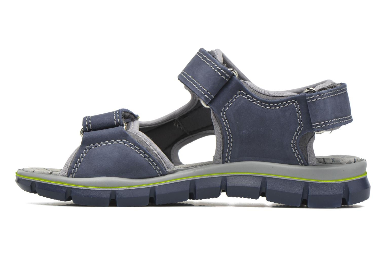 Sandales et nu-pieds Primigi Ugo Bleu vue face