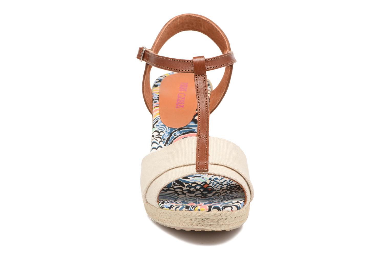 Sandales et nu-pieds Pare Gabia Mirage Beige vue portées chaussures