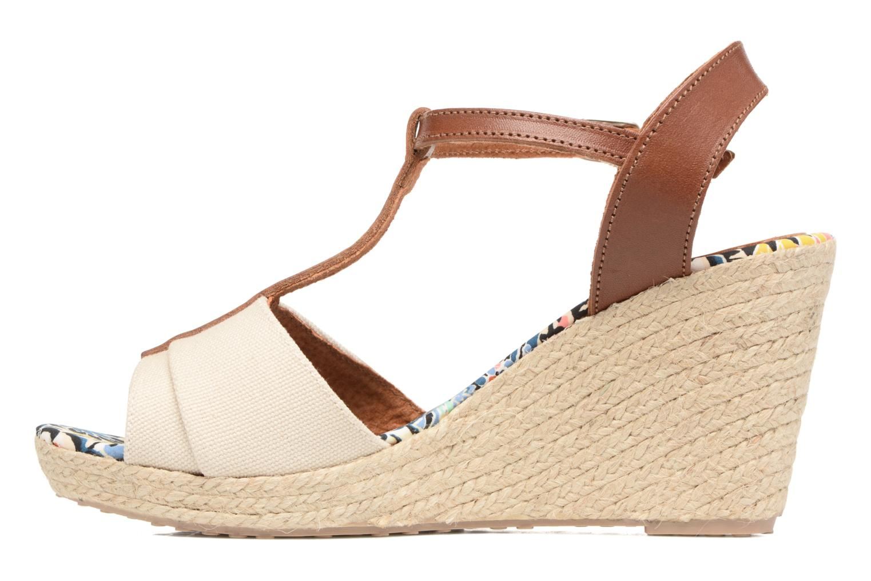 Sandales et nu-pieds Pare Gabia Mirage Beige vue face