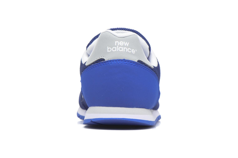 Baskets New Balance KD373 J Bleu vue droite