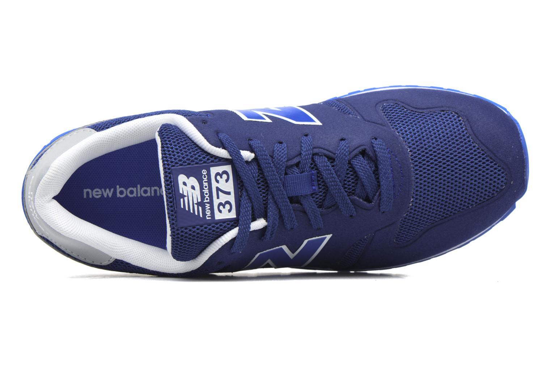 Baskets New Balance KD373 J Bleu vue gauche
