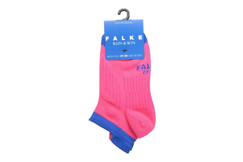 Chaussettes et collants Falke Mini-socquettes RUN & WIN SNEAKER Coton Sport Rose vue derrière