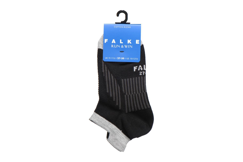 Chaussettes et collants Falke Mini-socquettes RUN & WIN SNEAKER Coton Sport Noir vue derrière