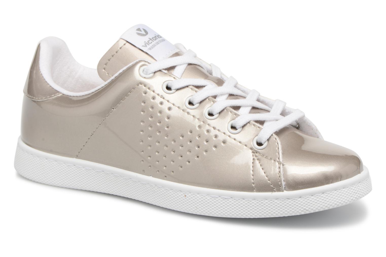 Zapatos de mujer baratos zapatos de mujer Victoria Deportivo Charol (Gris) - Deportivas en Más cómodo