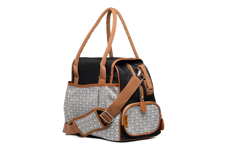 Handtaschen Babymoov Sac à Langer Style Bag schwarz ansicht von rechts